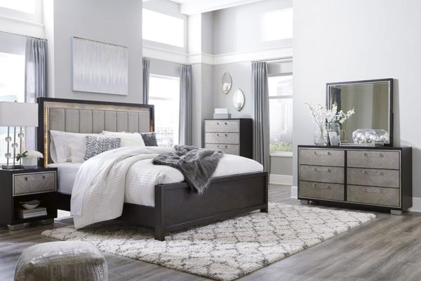 Picture of Maretto 6 Piece Panel Bedroom Set