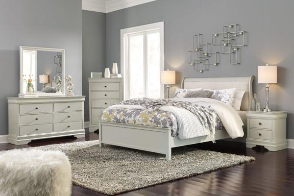 Picture of Jorstad 6 Piece Sleigh Bedroom Set