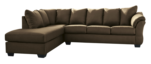 Picture of Darcy Cafe 2-Piece Left Arm Facing Sectional