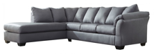 Picture of Darcy Steel 2-Piece Left Arm Facing Sectional