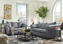 Picture of Darcy Steel 2-Piece Living Room Set