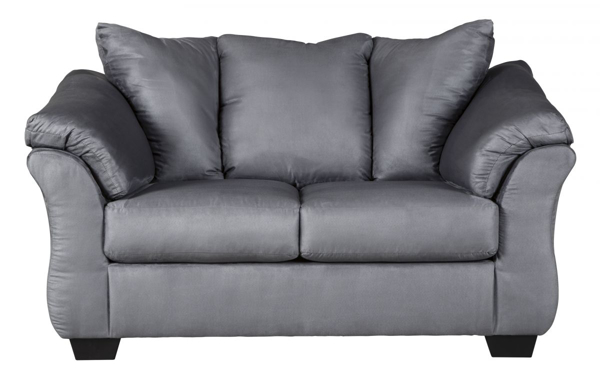 Picture of Darcy Steel Loveseat