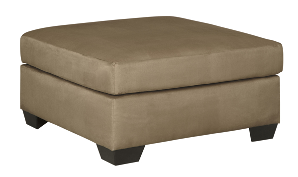 Picture of Darcy Mocha Oversized Accent Ottoman