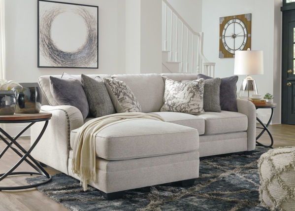 Picture of Dellara Chalk 2-Piece Left Arm Facing Sectional