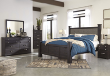 Picture of Reylow 6-Piece Poster Bedroom Set