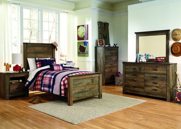 Picture of Trinell 6-Piece Youth Panel Bedroom