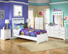 Picture of Lulu 6-Piece Youth Panel Bedroom Set