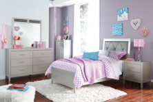 Picture of Olivet 6-Piece Youth Panel Bedroom Set