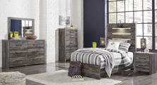 Picture of Drystan 6-Piece Youth Panel Bedroom Set