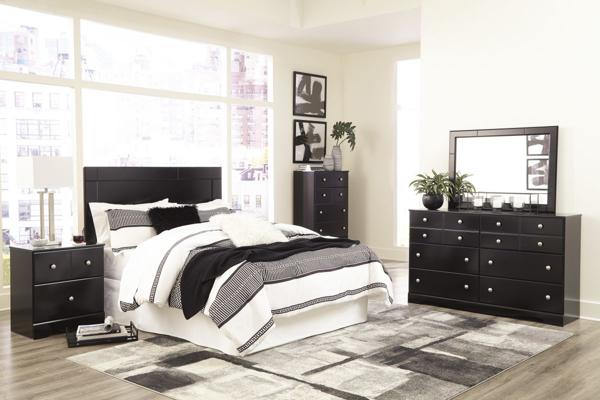 Picture of Mirlotown 4-Piece Queen Headboard Bedroom Set