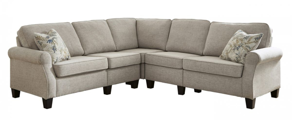 Picture of Alessio Beige 4-Piece Sectional