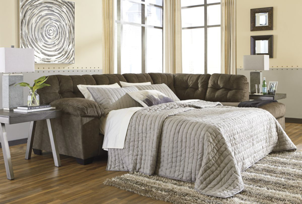 Picture of Accrington Earth Right Arm Facing Sleeper Sectional