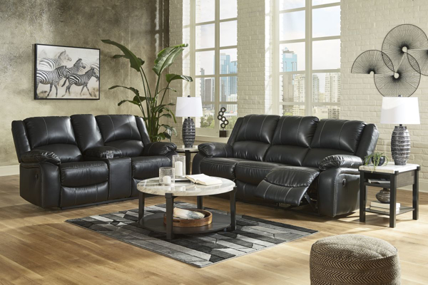 Picture of Calderwell Black 2-Piece Living Room Set
