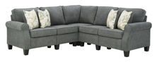 Picture of Alessio Charcoal 4-Piece Sectional