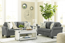 Picture of Alessio Charcoal 2-Piece Living Room Set