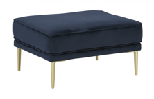 Picture of Macleary Navy Ottoman
