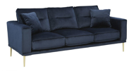 Picture of Macleary Navy Sofa