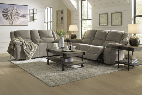 Picture of Draycoll Pewter 2-Piece Power Living Room Set