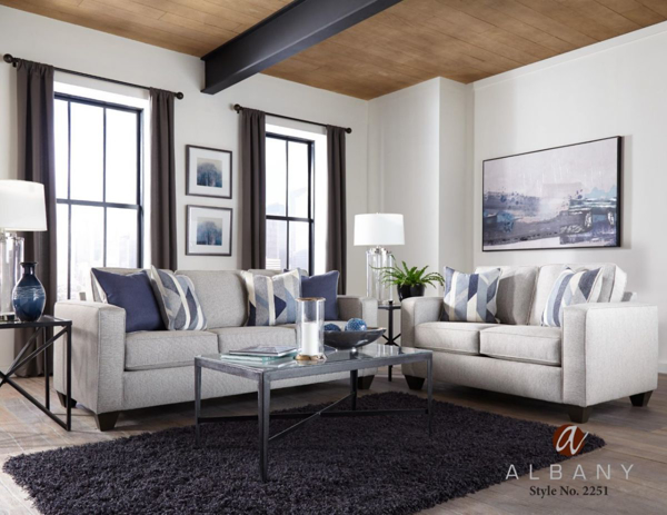 Picture of Crypton Slate 2-Piece Living Room Set