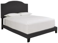 Picture of Adelloni Charcoal Queen Upholstered Bed
