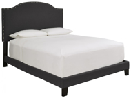 Picture of Adelloni Charcoal King Upholstered Bed