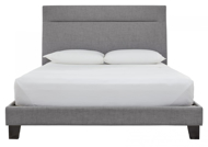 Picture of Blevins Gray King Upholstered Bed