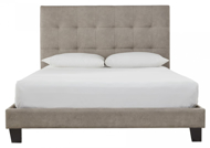 Picture of Arthur Light Brown Queen Upholstered Bed