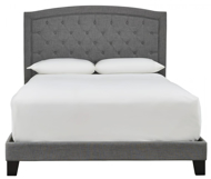 Picture of Blayney Gray King Upholstered Bed