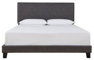 Picture of Vintasso Grayish Brown King Upholstered Bed