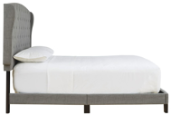 Picture of Vintasso Gray Queen Upholstered Bed