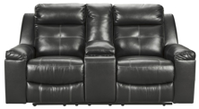 Picture of Kempten Reclining Loveseat With Console